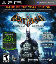 Batman Arkham Asylum 3D Game of the Year Edition para PS3