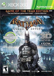 Batman Arkham Asylum 3D Game of the Year Edition para XBOX 360
