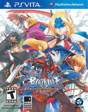 BlazBlue: Continuum Shift Extend para PS Vita