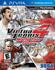 Virtua Tennis 4: World Tour Edition  para PS Vita