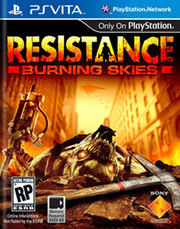 Resistance: Burning Skies para PS Vita