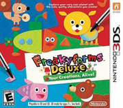 Freakyforms Deluxe: Your Creations, Alive! para 3DS
