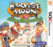 Harvest Moon 3D: A New Beginning para 3DS