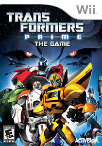 Transformers Prime: The Game para Wii