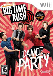 Big Time Rush Dance Party para Wii