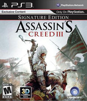 Assassin's Creed III Signature Edition para PS3
