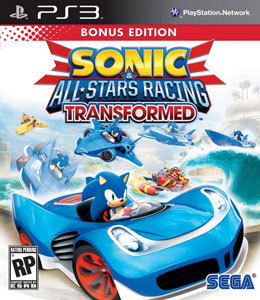 Sonic & All-Stars Racing Transformed para PS3