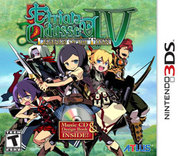 Etrian Odyssey IV: Legends of the Titan para 3DS