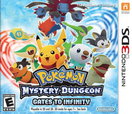 Pokemon Mystery Dungeon: Gates to Infinity para 3DS