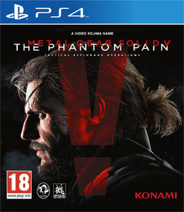 Metal Gear Solid V: The Phantom Pain para PS4