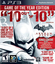 Batman: Arkham City Game of the Year Edition para PS3
