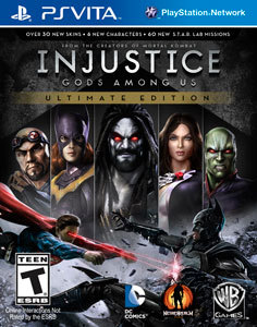 Injustice: Gods Among Us - Ultimate Edition para PS Vita