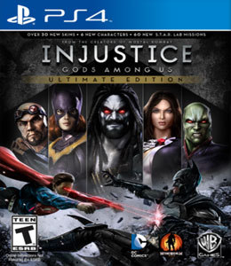 Injustice: Gods Among Us - Ultimate Edition para PS4