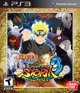 Naruto Shippuden: Ultimate Ninja Storm 3 Full Burst para PS3