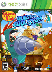Phineas and Ferb: Quest for Cool Stuff para XBOX 360