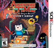 Adventure Time: Explore the Dungeon Because I DON-T KNOW! para 3DS