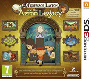 Professor Layton and the Azran Legacy para 3DS