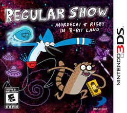 Regular Show: Mordecai and Rigby in 8-Bit Land para 3DS