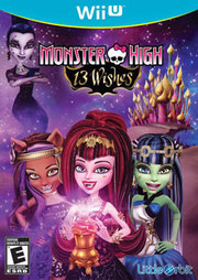 Monster High 13 Wishes: The Official Game para Wii U