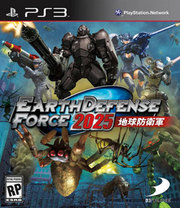 Earth Defense Force 2025 para PS3