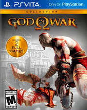God of War Collection para PS Vita