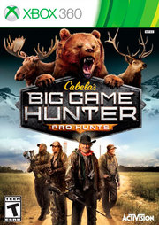 Cabela's Big Game Hunter: Pro Hunts para XBOX 360