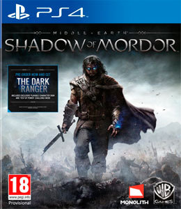 Middle-Earth Shadow of Mordor para PS4