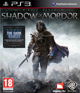 Middle-Earth Shadow of Mordor para PS3