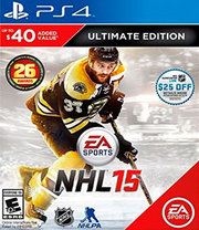 NHL 15 Ultimate Edition para PS4
