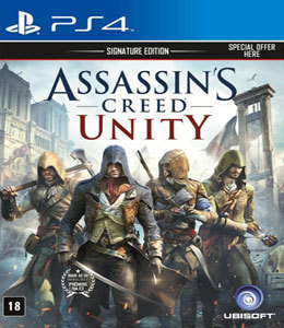 Assassin's Creed Unity Signature Edition para PS4