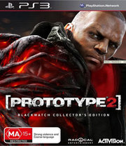 Prototype 2 Blackwatch Collector's Edition para PS3