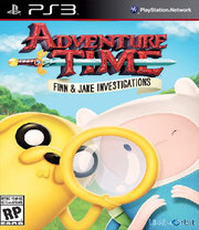 Adventure Time: Finn and Jake Investigations para PS3