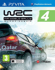 WRC 4: FIA World Rally Championship para PS Vita