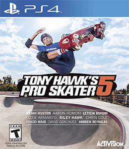 Tony Hawk's Pro Skater 5 para PS4