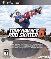 Tony Hawk's Pro Skater 5 para PS3