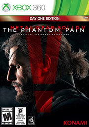 Metal Gear Solid V: The Phantom Pain - Day One Edition para XBOX 360