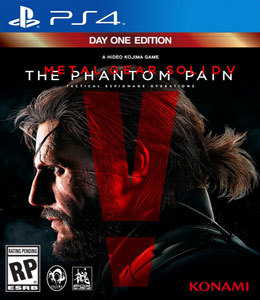 Metal Gear Solid V: The Phantom Pain - Day One Edition para PS4