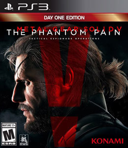 Metal Gear Solid V: The Phantom Pain - Day One Edition para PS3