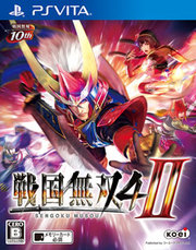 Samurai Warriors 4-II para PS Vita