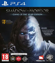 Middle-Earth Shadow of Mordor Game of the Year Edition para PS4