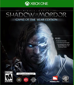 Middle-Earth Shadow of Mordor Game of the Year Edition para Xbox One