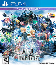 World of Final Fantasy para PS4