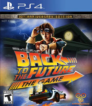 Back to the Future: The Game 30th Anniversary Edition para PS4