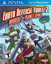 Earth Defense Force 2: Invaders From Planet Space para PS Vita