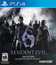 Resident Evil 6  para PS4