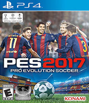 Pro Evolution Soccer 2017 para PS4
