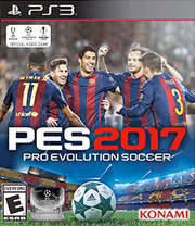 Pro Evolution Soccer 2017 para PS3