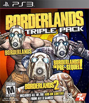 Borderlands Triple Pack para PS3