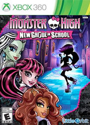 Monster High: New Ghoul in School para XBOX 360