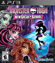 Monster High: New Ghoul in School para PS3